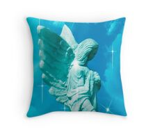 I Will Guide You Angel Throw Pillow
