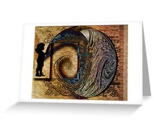 time is yours  Greeting Card