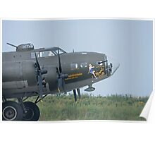 B-17 Memphis Belle Poster