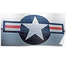 USAF Star Emblem Poster