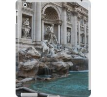 Rome's Fabulous Fountains - Trevi Fountain, No Tourists iPad Case/Skin