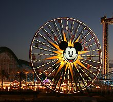 Mickey Ferris Wheel by Marcella Martinez