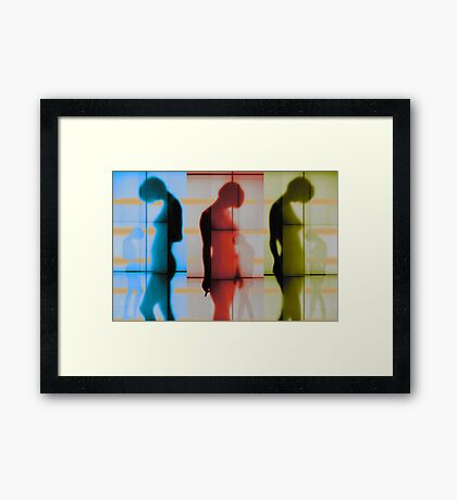 Body Language 21 Framed Print