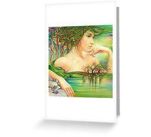 The Emerald Lake Greeting Card