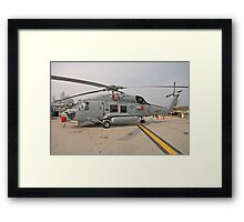 SH-60 Seahawk Helicopter Framed Print