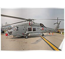 SH-60 Seahawk Helicopter Poster