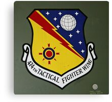 474th Tactical Fighter Wing Canvas Print