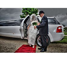 Arrival of the Bride Photographic Print