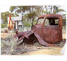 We can only wonder...Goldfields WA Poster