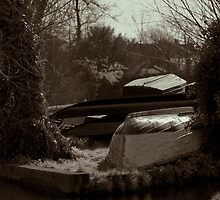 Boats at rest (Cambridge) by evilcat