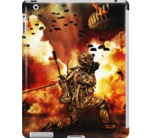 What is the worst that can happen? - Just another day at work! iPad Case/Skin