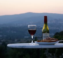 Romantic French Dinning - Southern France 2/2 by Ben Elmy