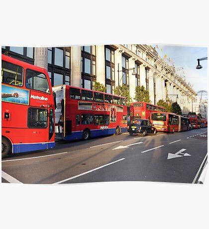 Oxford Street, London Poster