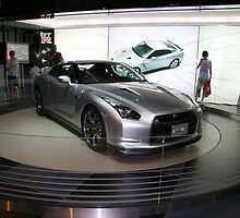 nissan sports concept car by doug hunwick