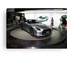 nissan sports concept car Canvas Print