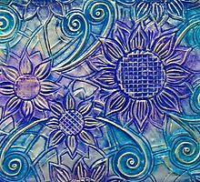 Metal Petals - Card by MelDavies
