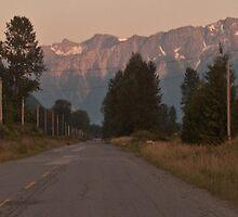 Rural B.C. road by chwells