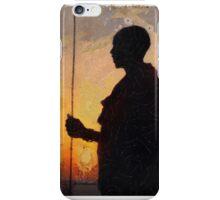 Herding the Sunset iPhone Case/Skin