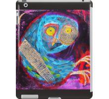 the eternal owl iPad Case/Skin