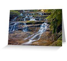 Leura Cascades Greeting Card
