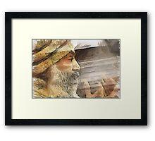Osho Rajneesh Chandra Mohan Framed Print