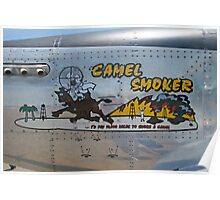 Camel Smoker Poster