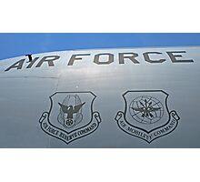 USAF Insignias Photographic Print