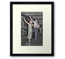 Saturday Night Fever at The Tea Dance Framed Print