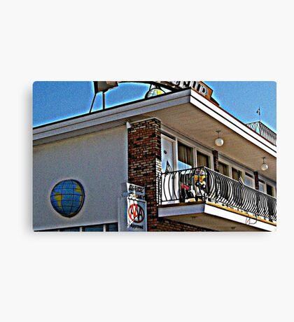 motel 8 Canvas Print