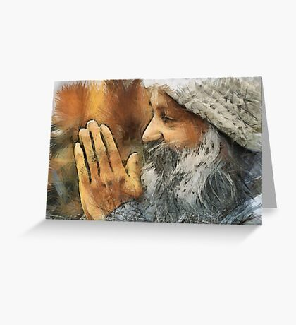 Osho Greeting Card
