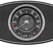 Classic Mini Dashboard by car2oonz