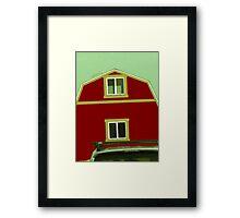 Barn on the Run! 02 Framed Print