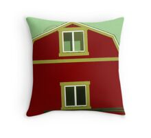 Barn on the Run! 02 Throw Pillow