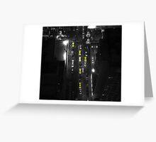 Metropolis Cabs! Greeting Card