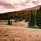 Boreas Pass in Fall HDR by Josh Dayton