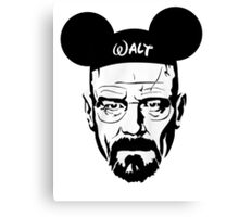 Walter Mouse Canvas Print