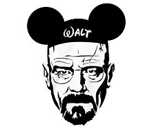 Walter Mouse Photographic Print