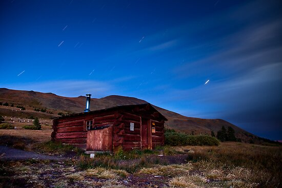 Boreas Pass Section House by Josh Dayton