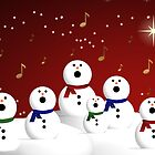 Snowman Choir by Sherrianne Talon