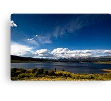 Taylor Reservoir Canvas Print