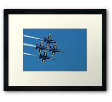 The Blue Angels Framed Print