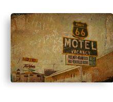 Vintage & Vacancy Canvas Print