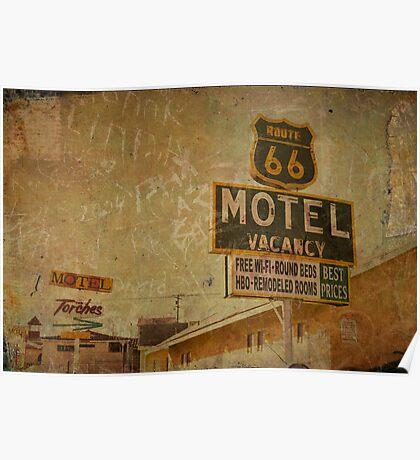 Vintage & Vacancy Poster