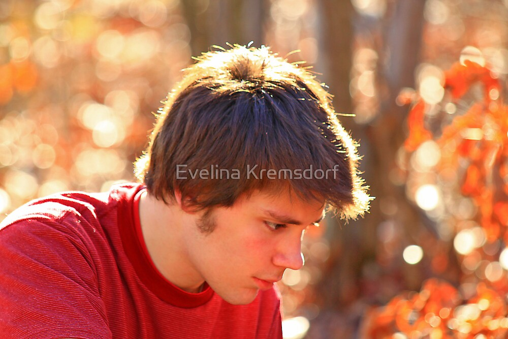 A Teenager by Evelina Kremsdorf