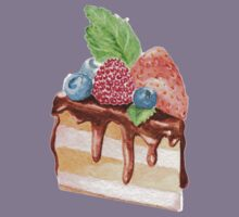 Yummy cake with berries   Kids Clothes
