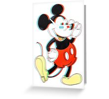 Mickey 3D Greeting Card