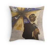 six-string samurai Throw Pillow