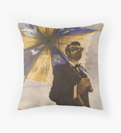 six-string samurai Throw Pillow
