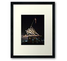 Iwo Jima Memorial Framed Print