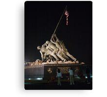 Iwo Jima Memorial Canvas Print